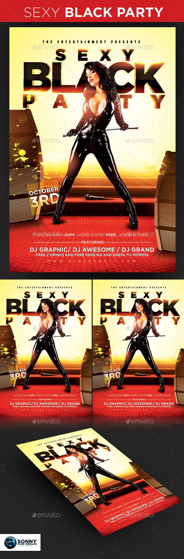 Sexy Black Party
