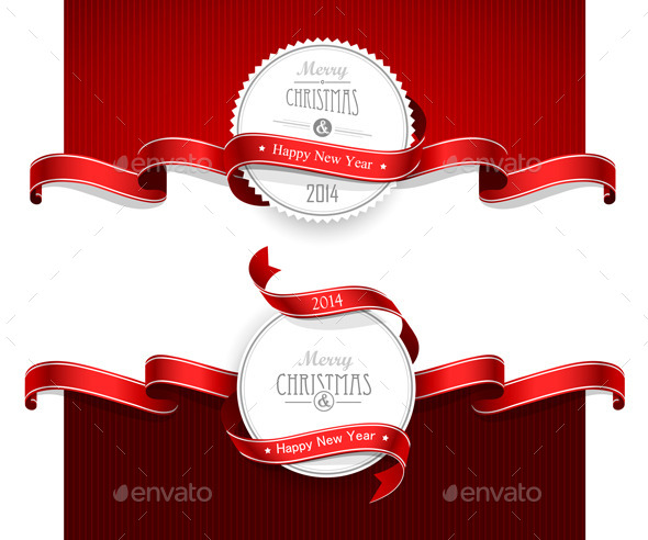 GraphicRiver Christmas Emblems 9002212