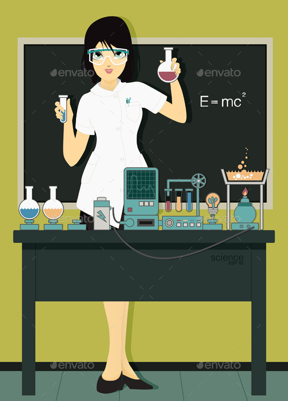GraphicRiver Scientists 9002671