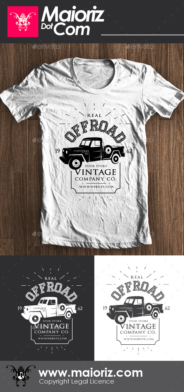 GraphicRiver Off Road Tshirt 9002760