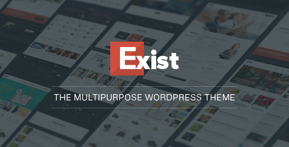 Exist Multi Purpose WordPress Theme