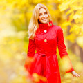 Young woman in autumn park  - PhotoDune Item for Sale
