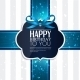 Birthday Card with Ribbon - GraphicRiver Item for Sale