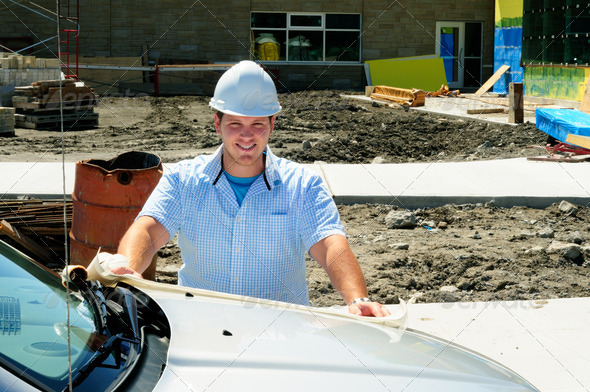 Construction Professional - Stock Photo - Images