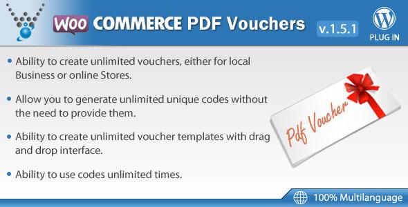 WooCommerce PDF Vouchers - WordPress Plugin - CodeCanyon Item for Sale