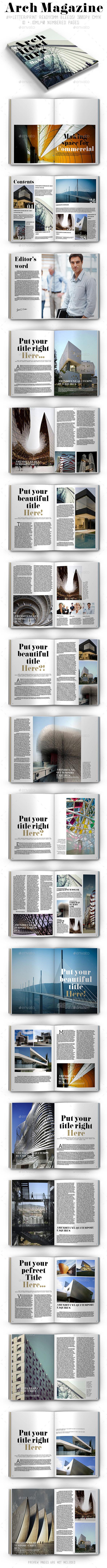 GraphicRiver Arch Magazine 9005156