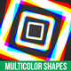 Multicolor Shapes - VideoHive Item for Sale