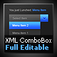 XML Dropdown Menu / ComboBox - ActiveDen Item for Sale