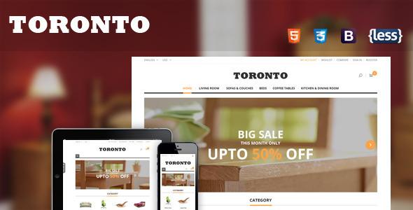 SNS Toronto - Premium Responsive Magento Theme