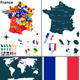 Map of France - GraphicRiver Item for Sale