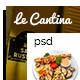Le Cantina Restaurant PSD - ThemeForest Item for Sale