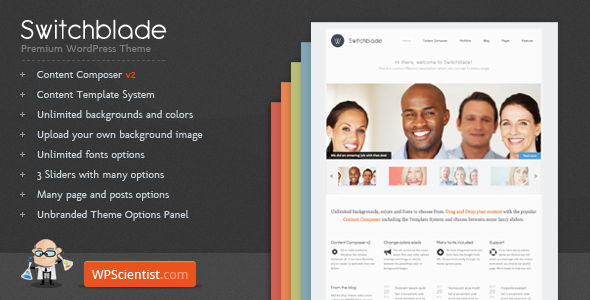Switchblade WordPress Themes
