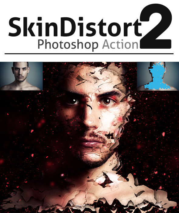 GraphicRiver SkinDistort 2 Photoshop Action 9006428