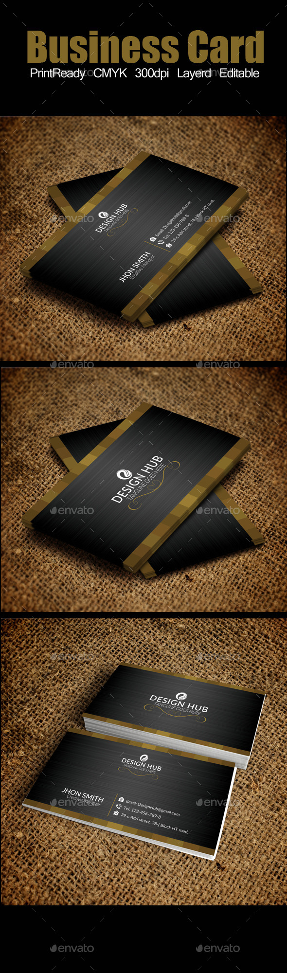 GraphicRiver Elegant Business Card 9006785