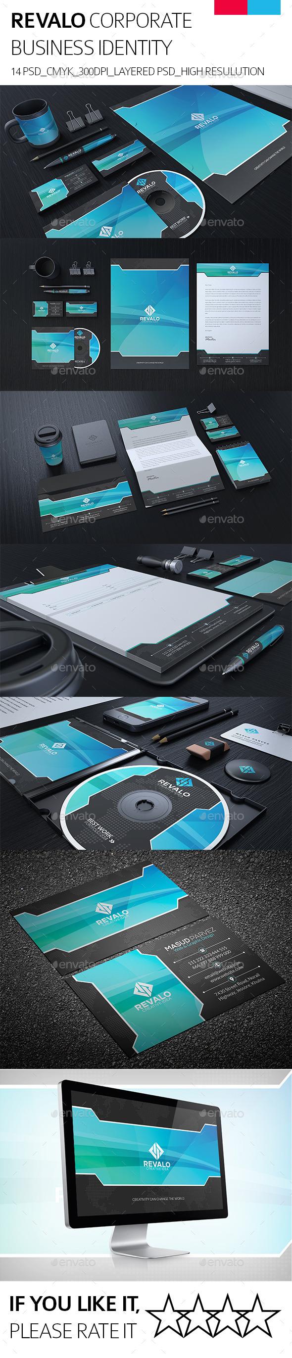 GraphicRiver Revalo Corporate Identity 9006787