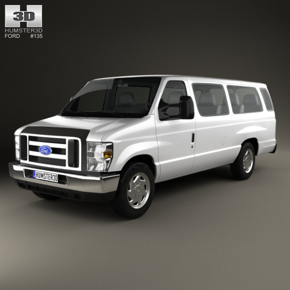 Ford E-Series Passenger Van 2011 - 3DOcean Item for Sale