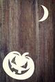 Halloween pumpkin over wooden background - PhotoDune Item for Sale