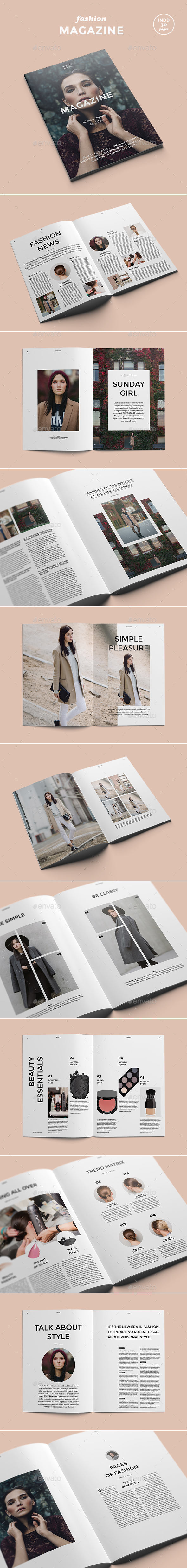GraphicRiver Fashion Magazine 9006838