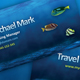 Travel Agency Business Card Design Template - GraphicRiver Item for Sale