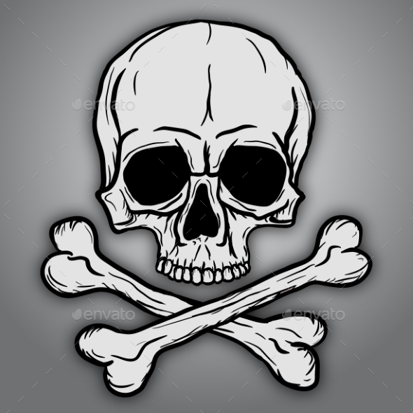 GraphicRiver Skull and Crossbones 9007635