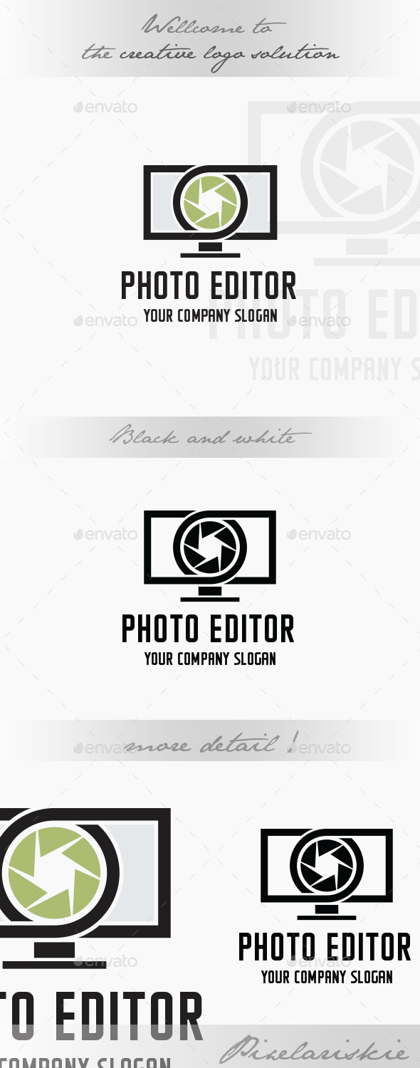 GraphicRiver Photo Editor Logo 9007700