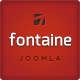 Fontaine - Clean Joomla Business Template - ThemeForest Item for Sale