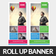 Corporate Business Rollup Banner Psd Template - GraphicRiver Item for Sale
