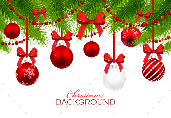 GraphicRiver Christmas Background 9008191
