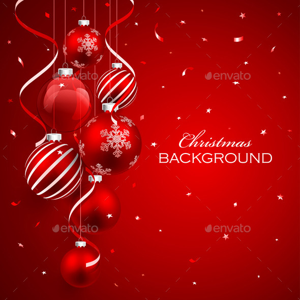 GraphicRiver Christmas Balls 9008193