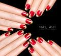 Nail Art Trend. Luxury Nail Polish. Nail Stickers - PhotoDune Item for Sale