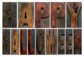 Happy Halloween in wood type - PhotoDune Item for Sale