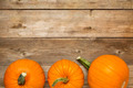 autumn pumpkin on rustic wood - PhotoDune Item for Sale
