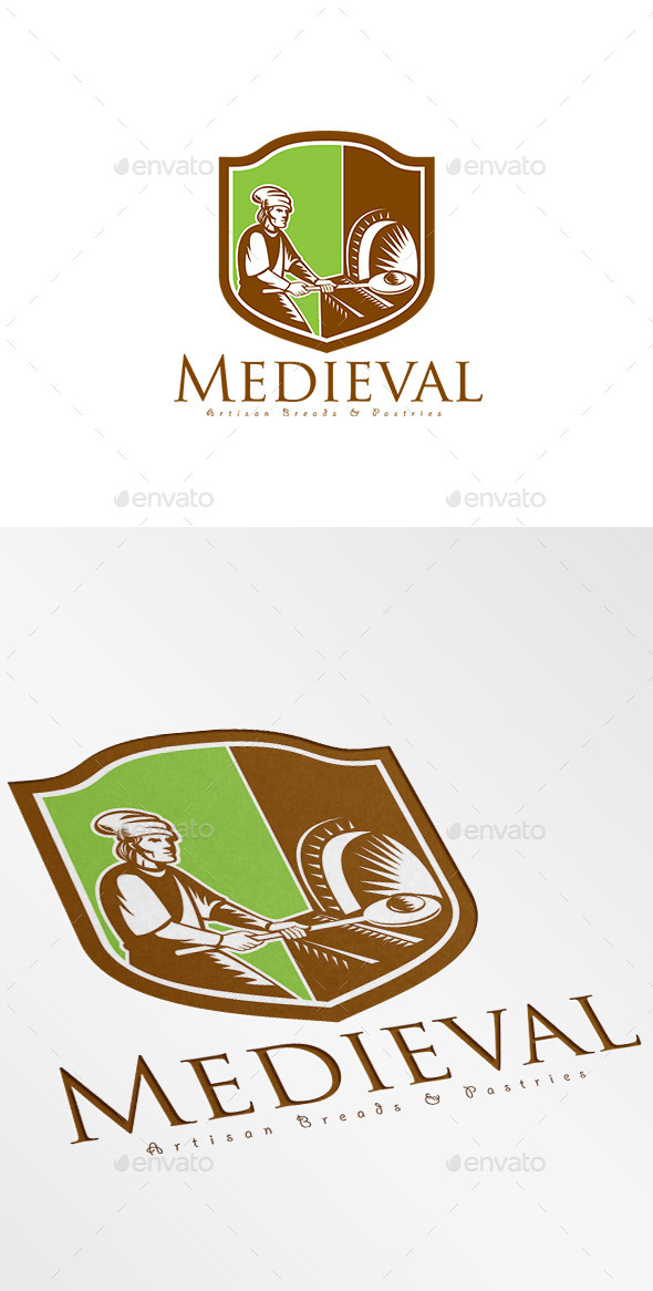 GraphicRiver Medieval Artisan Breads Logo 9008629