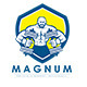 Magnum Protein Supplement Logo - GraphicRiver Item for Sale