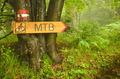 Bike route signboard - PhotoDune Item for Sale
