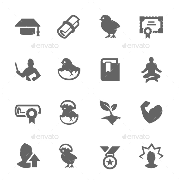 GraphicRiver Personal Development Icons 9008654