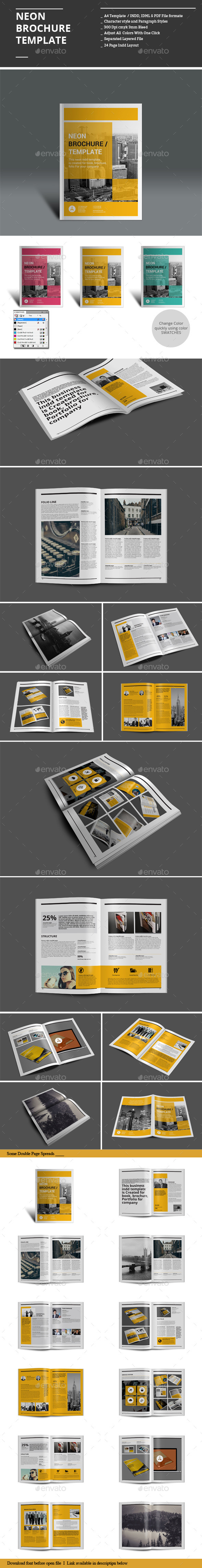 GraphicRiver Minion Brochure Templates 9008657