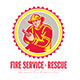 Fire Service and Rescue Logo - GraphicRiver Item for Sale
