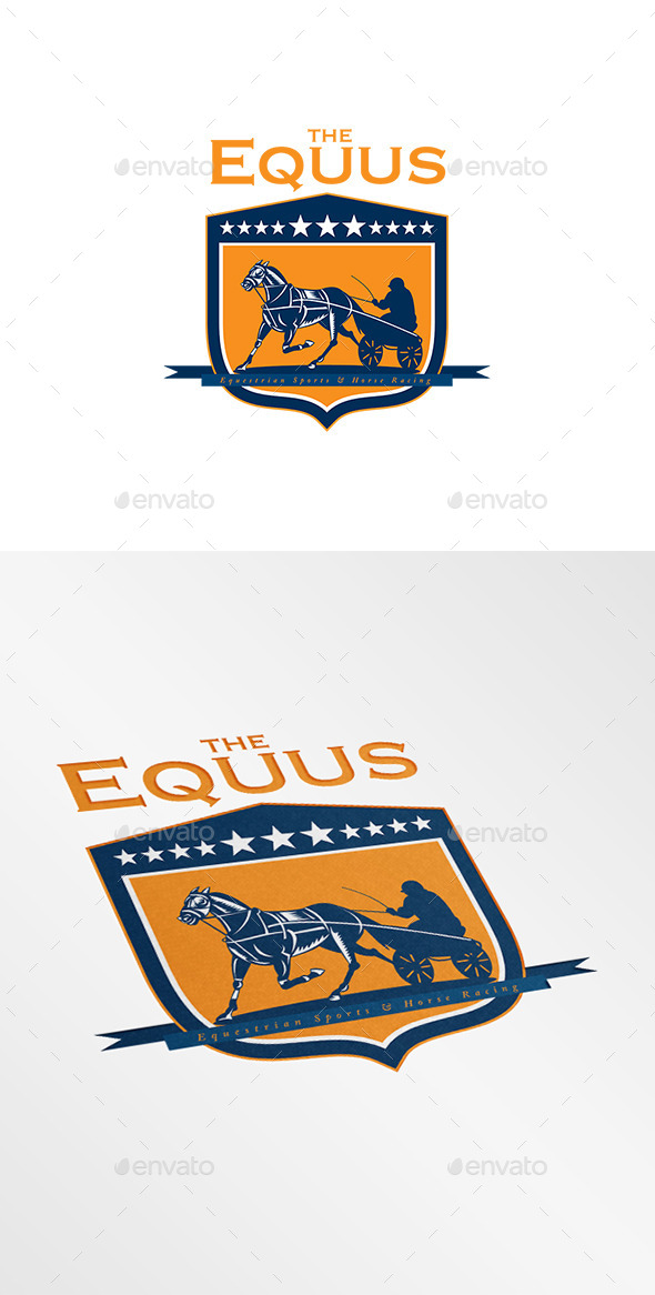 GraphicRiver The Equus Horse Racing Logo 9008723