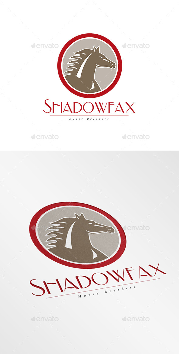 GraphicRiver Shadowfax Horse Breeders Logo 9008729