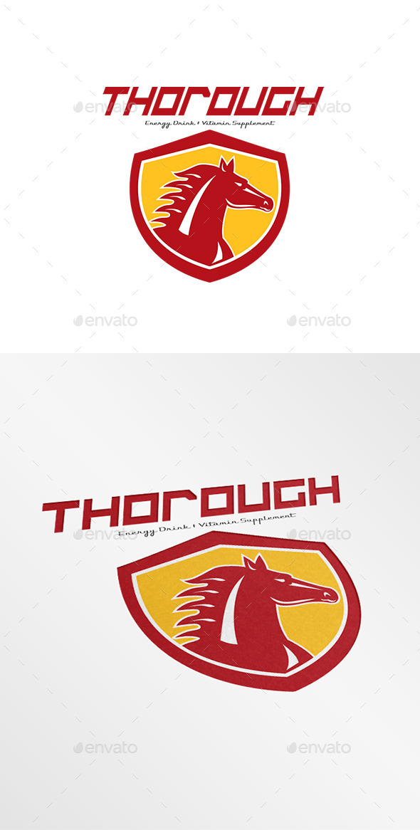 GraphicRiver Thorough Energy Drink Logo 9008734