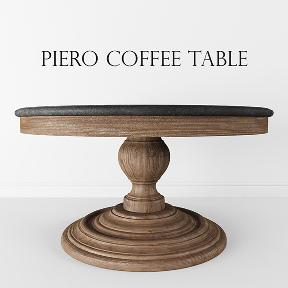 Piero Coffee Table - 3DOcean Item for Sale