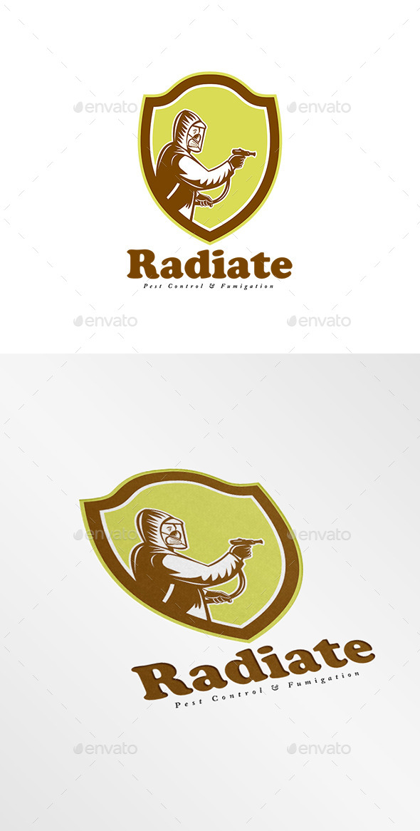 GraphicRiver Radiate Fumigation Logo 9009074