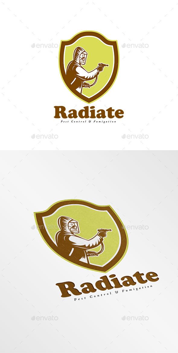 GraphicRiver Radiate Fumigation Logo 9009074
