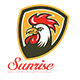 Sunrise Fried Chicken House Logo - GraphicRiver Item for Sale