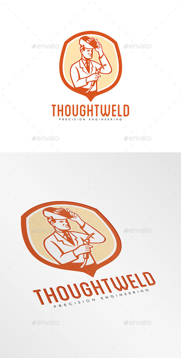 GraphicRiver Thoughtweld Precision Engineering Logo 9009229