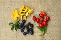 Healthy natural vegetables