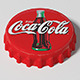 Coca Cola Bottle Tin Cap