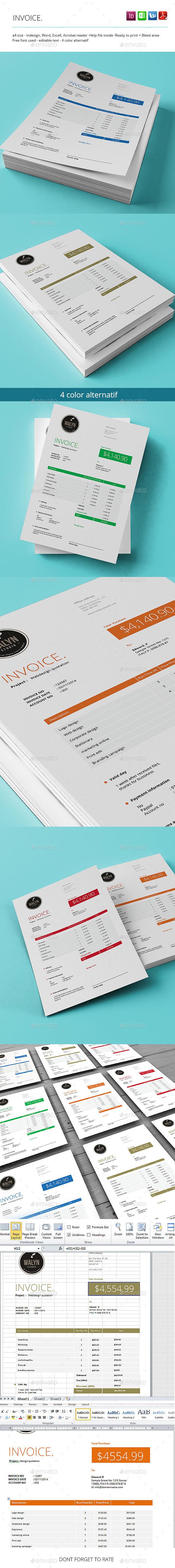 GraphicRiver The Invoice 8988408