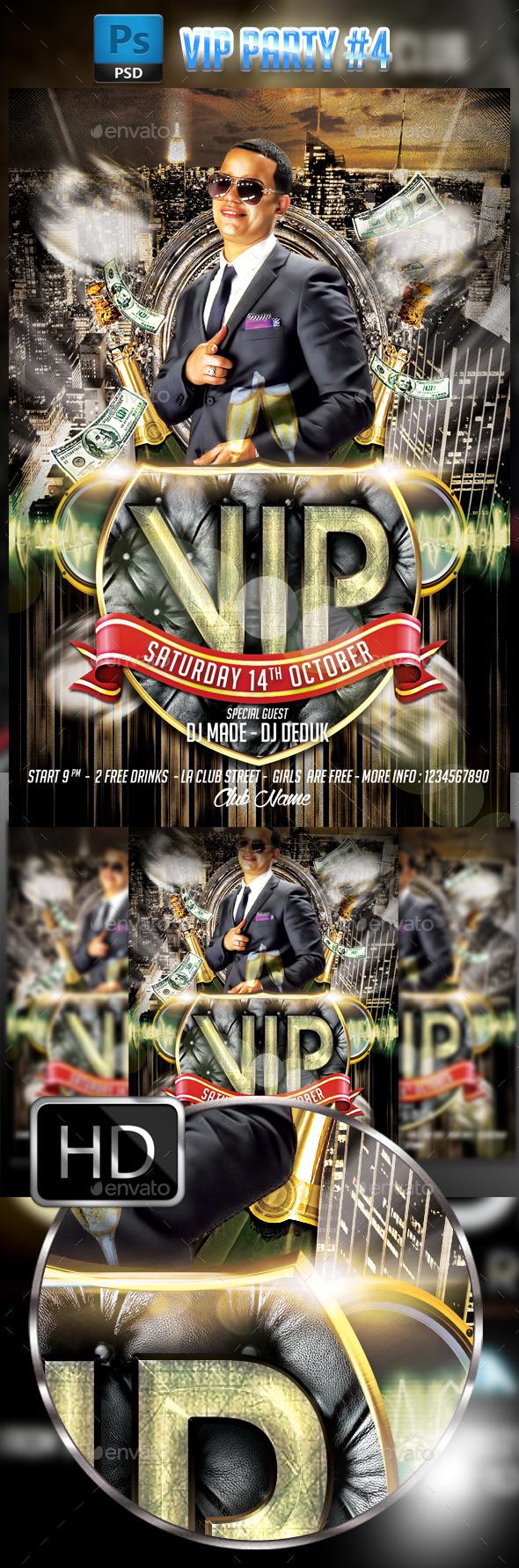 GraphicRiver VIP Party #4 9009506